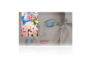 Wall mounted mirror LCD digital advertising player