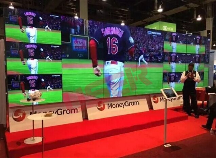 MoneyGram Las Vegas Division, 55inch Video Wall, 3×62