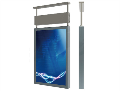 USER Big Size Screen for showcase Ceiling Mounted Digital Signage