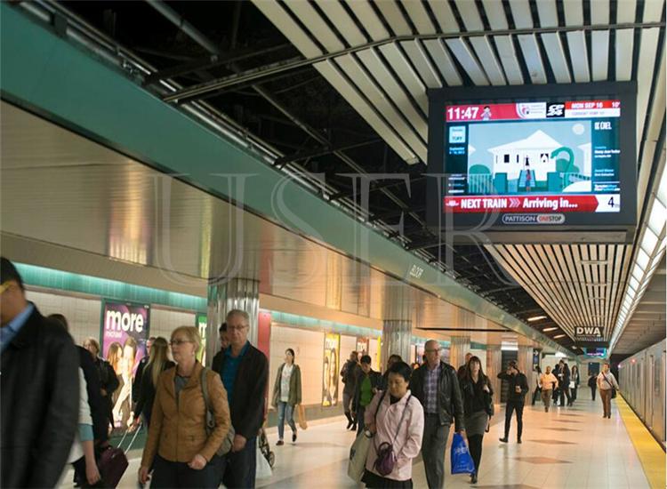 Kazakhstan Subway, 22inch lcd digital signage