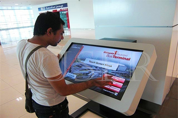 University in Saudi Riyadh, 22inch touch screen kiosk