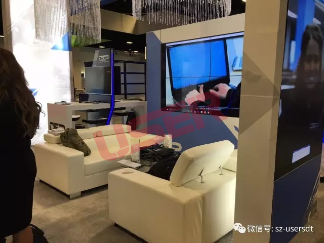 USER lcd video wall shown in Amercian Tampa exhibition successfully